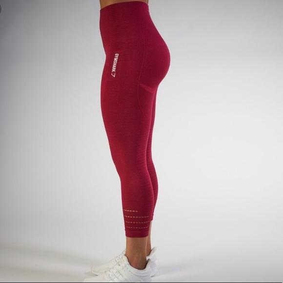 70fbedb231 Gymshark Pants | Seamless Capri Legging | Poshmark